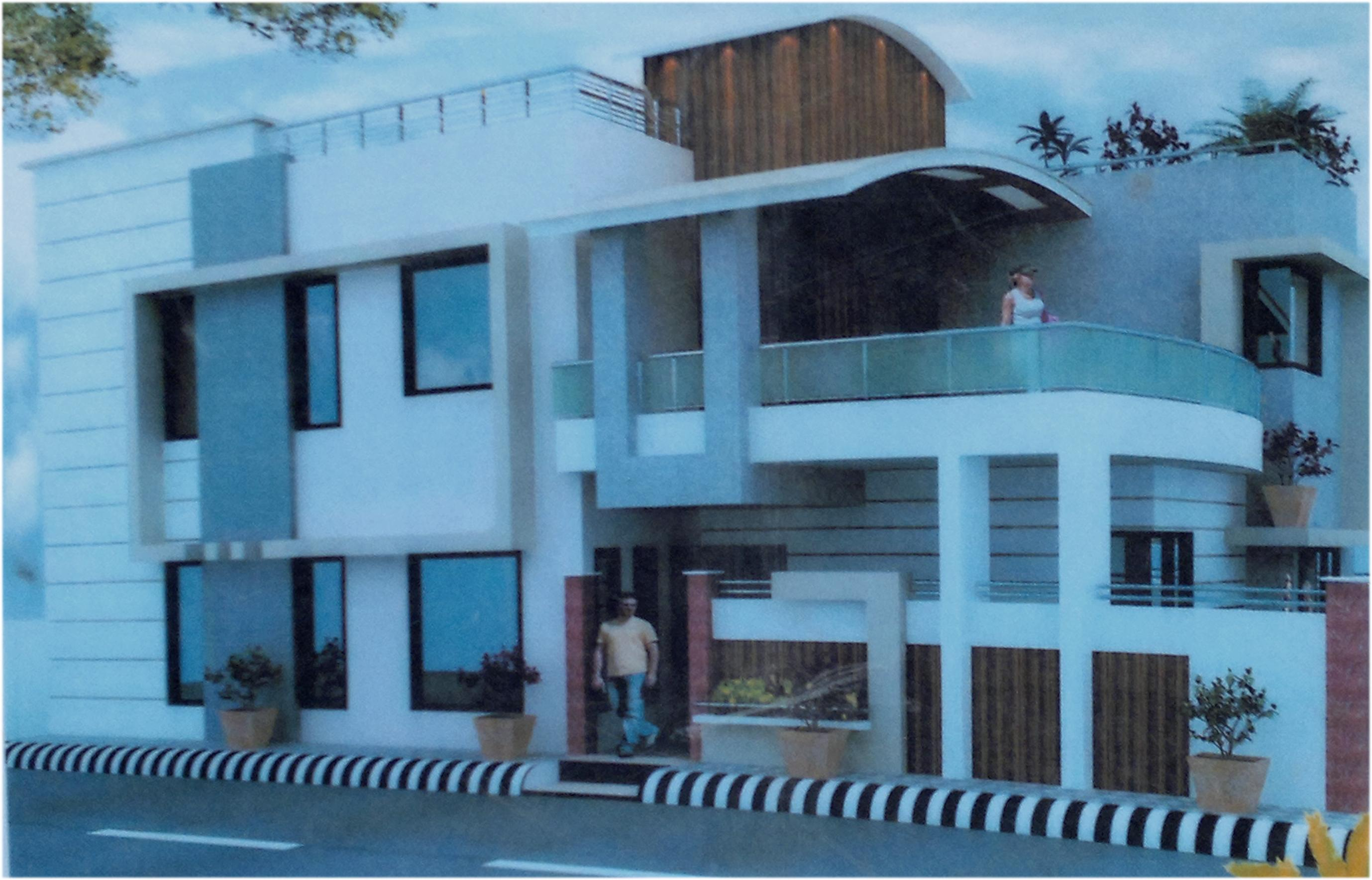 Modern Elevation design front-....