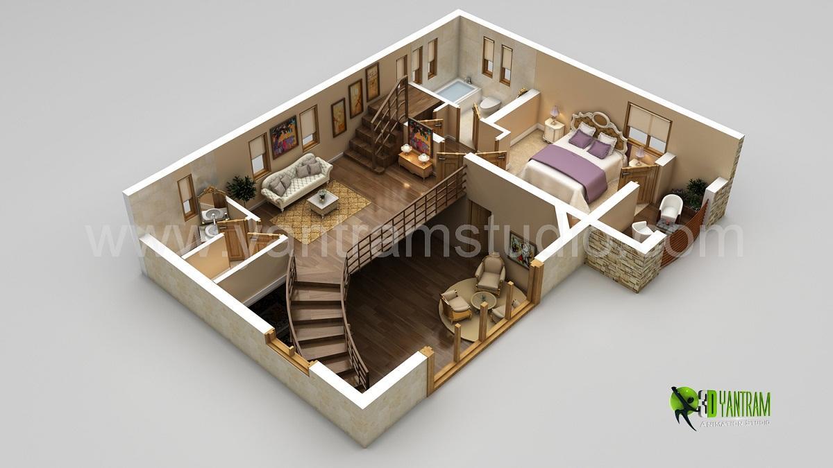 3D Home Floor Plan Design