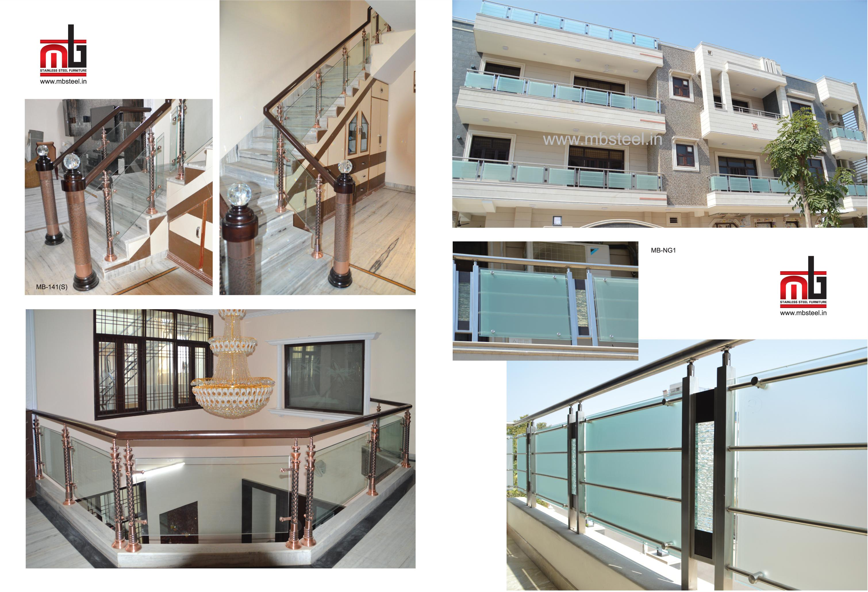 RAILING DESIGN IN STAINLESS ST....