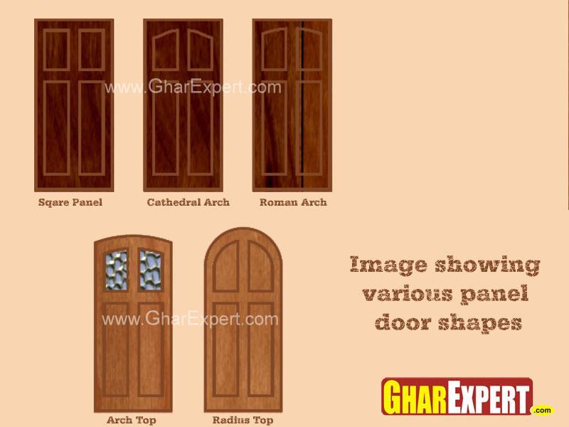 Panel door shapes & Panel door shapes - GharExpert pezcame.com