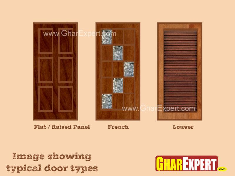 Wooden Interior door design