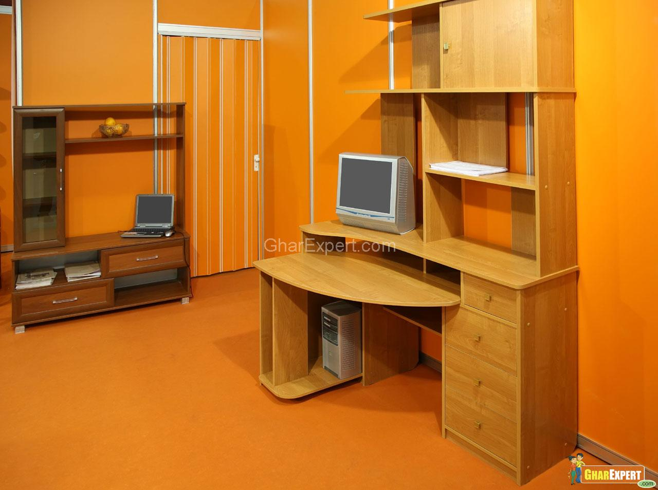 Study room furniture gharexpert - Study room furniture designe ...