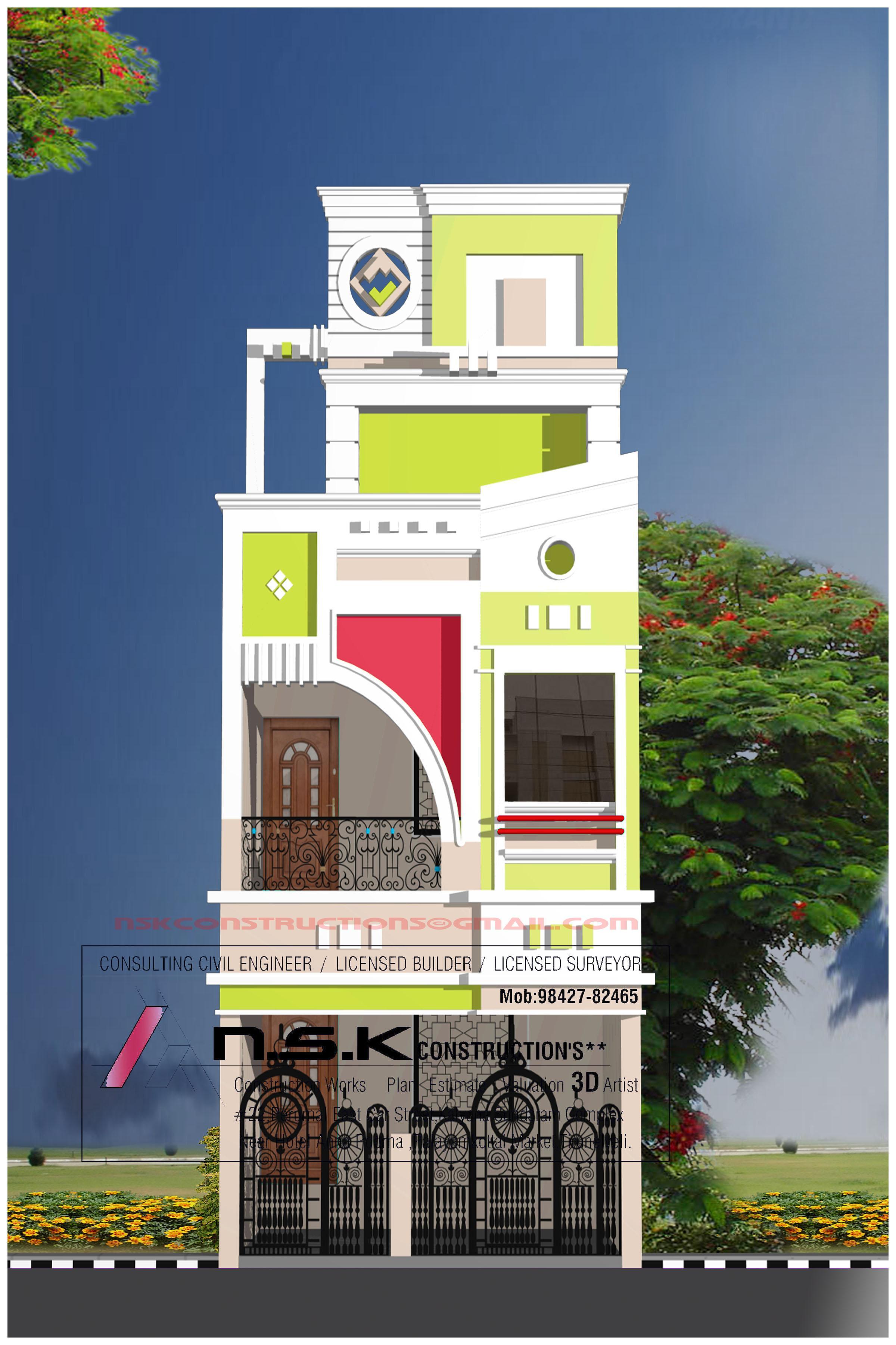 D Design Of House Exterior