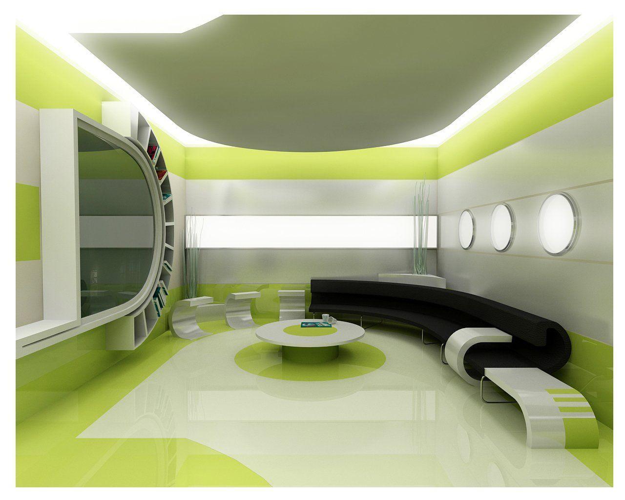 3 d design of a drawing room - GharExpert