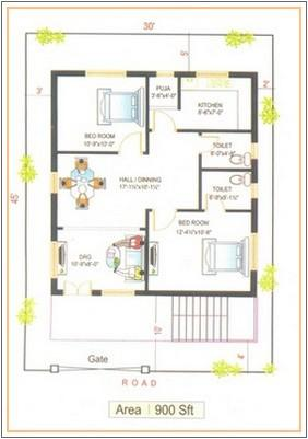500 sq ft house plans south facing