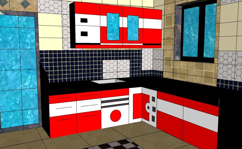 Compact kitchen designed