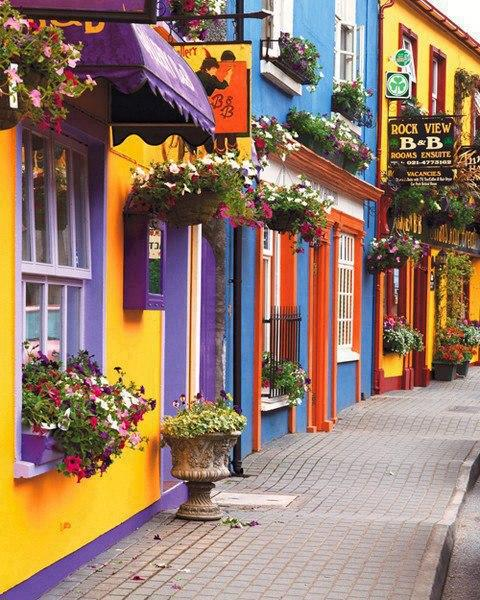 Colorful exteriors