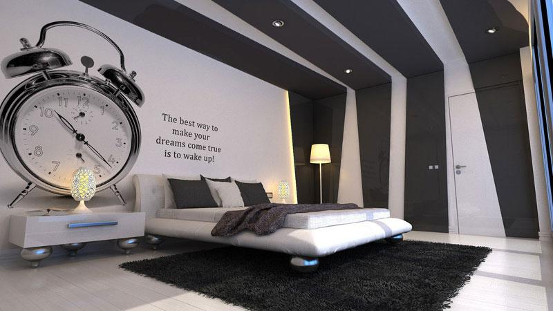 Modern Bedroom Ceiling design and Wall decor GharExpert