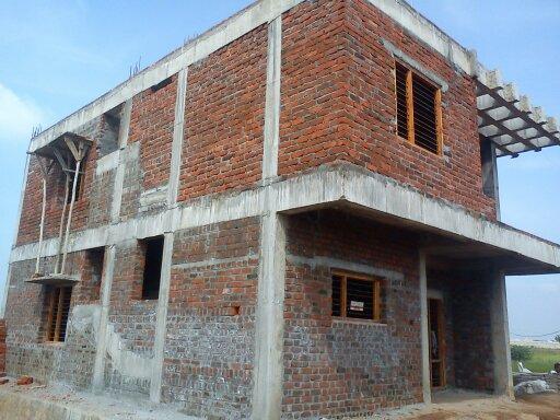 Under construction 2 story building GharExpert