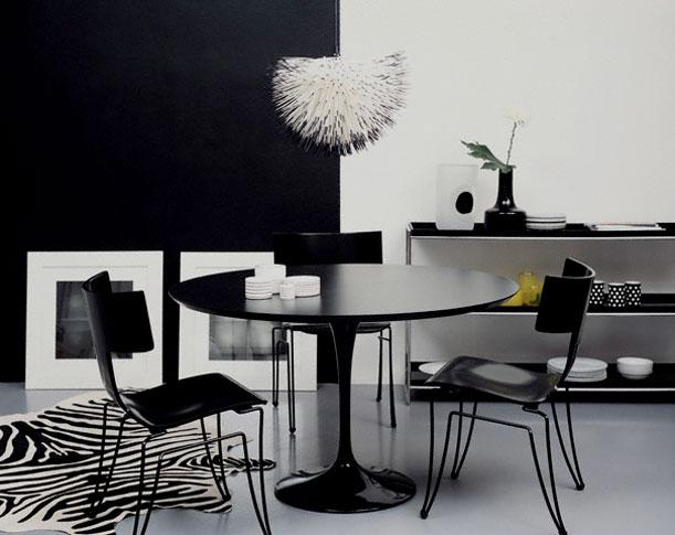dining furniture in black and ....