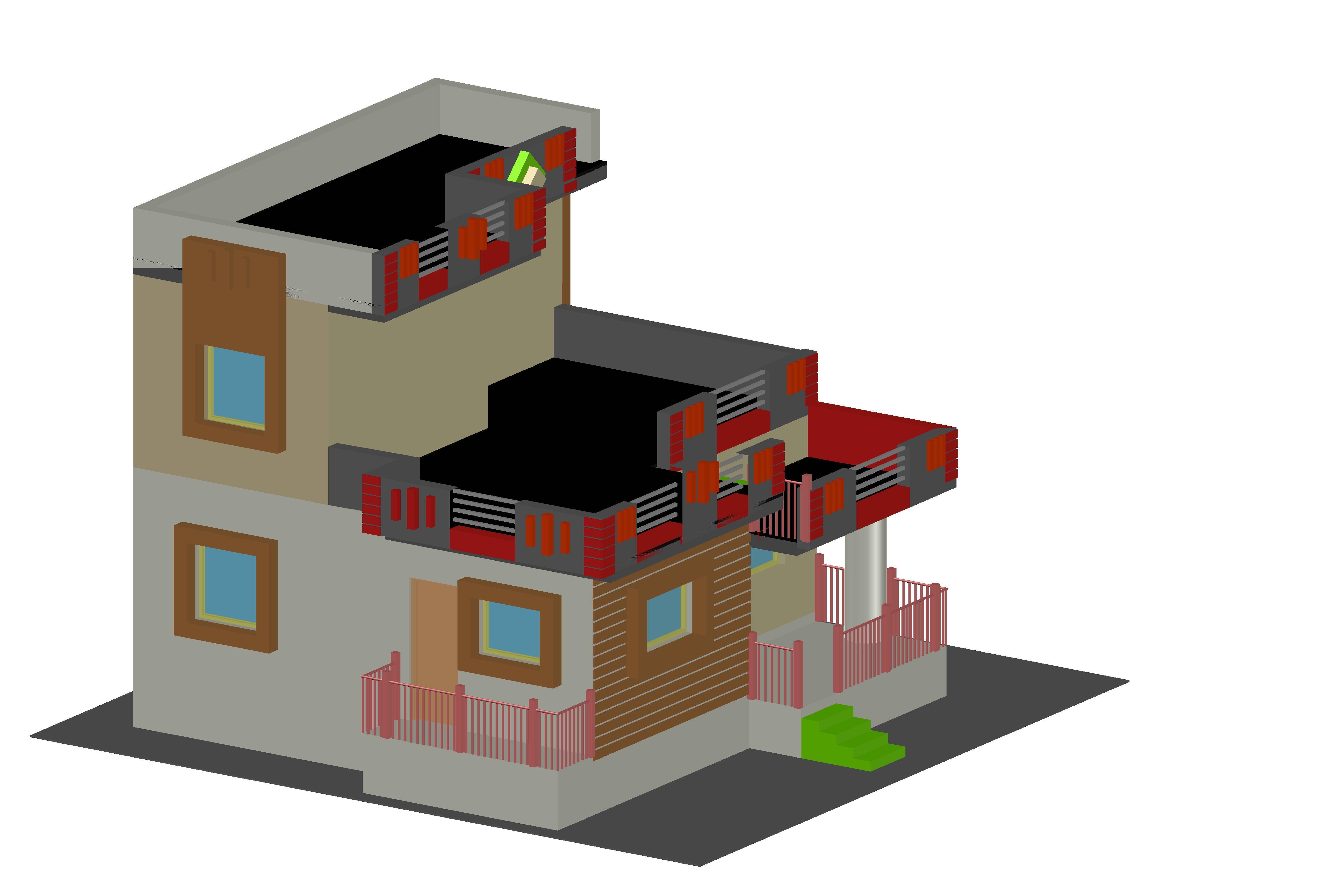 Plan & Elevation Designing