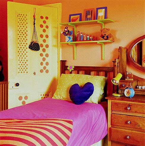 colorful kids room idea