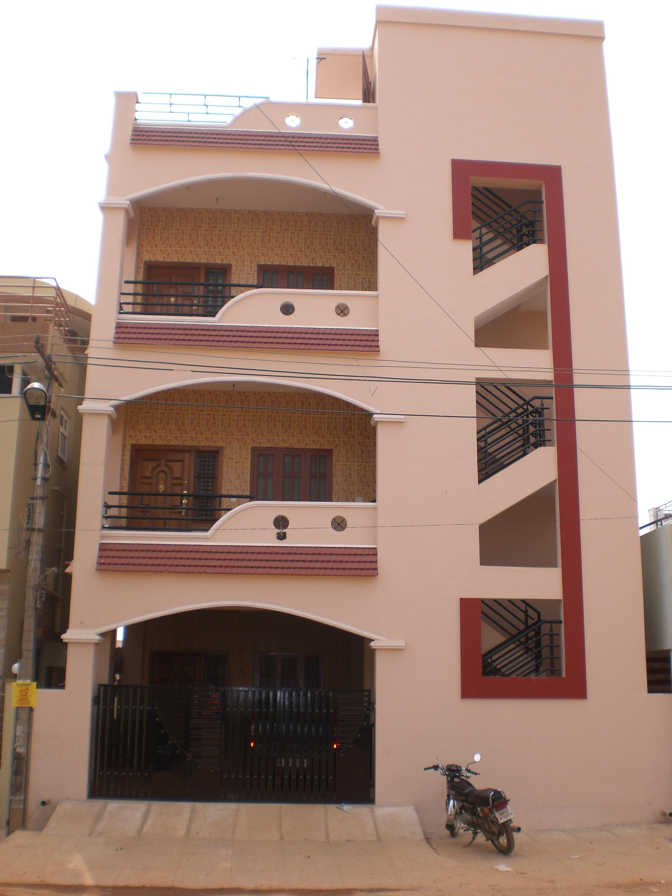 Front Elevation Designs Of Houses In Hyderabad : Hyderabad small house front elevation joy studio design