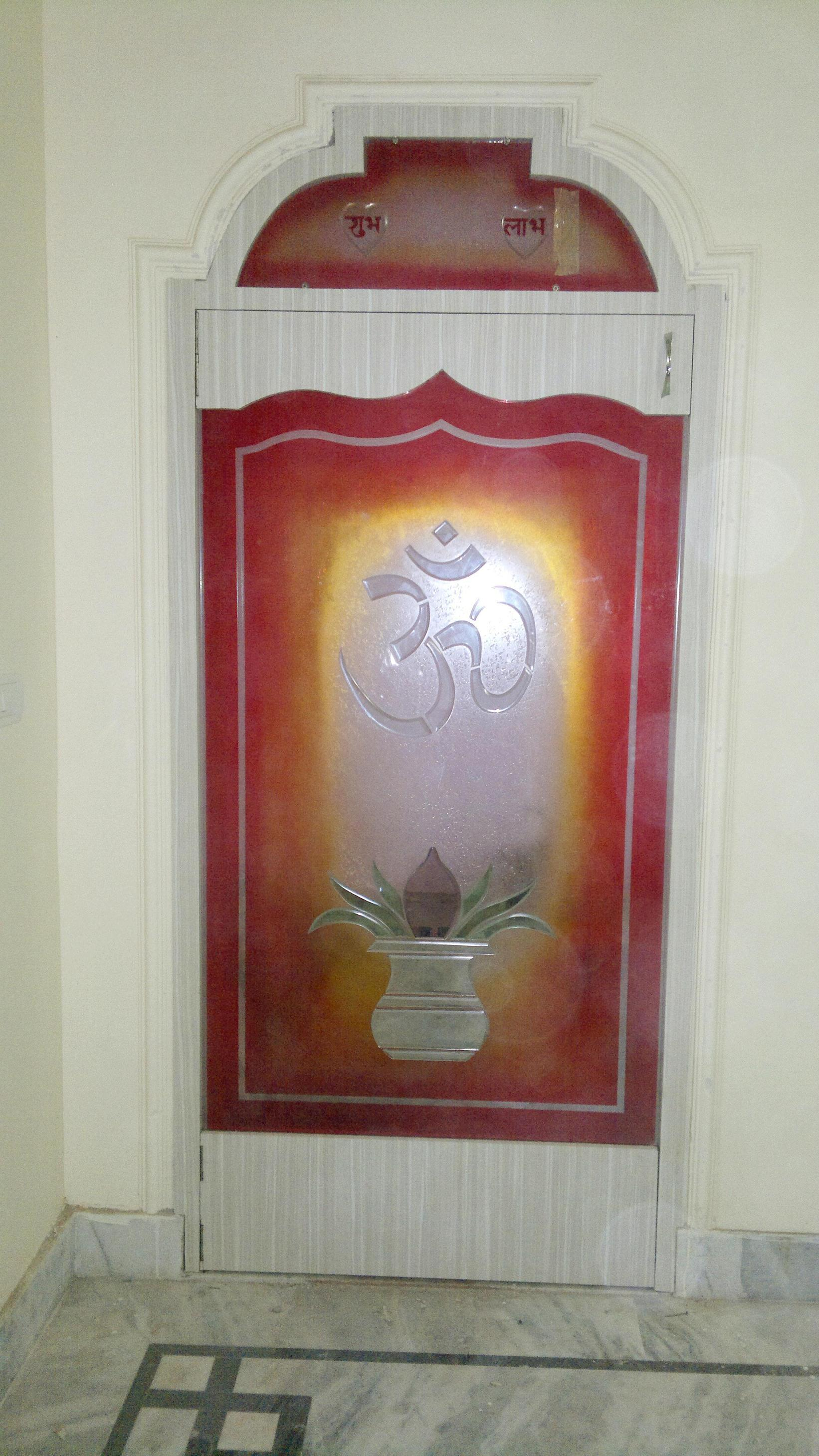 Designing of door for Pooja Ro....