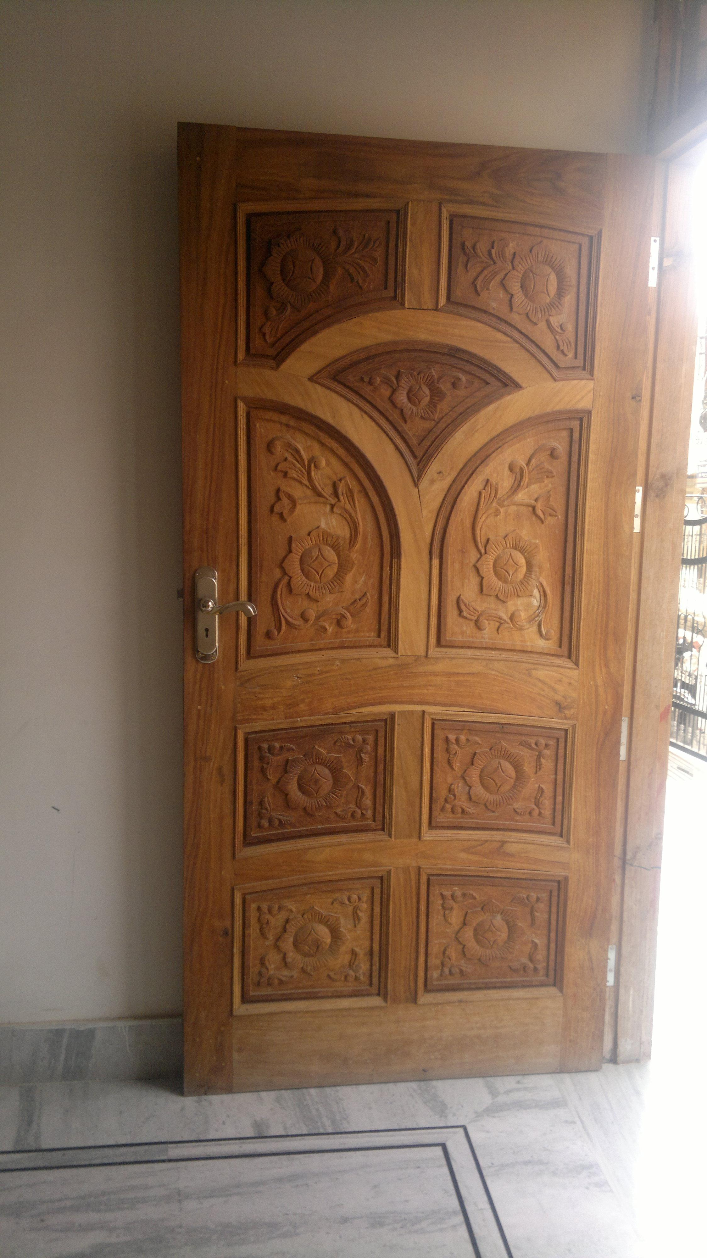 Single main door designs joy studio design gallery for Wooden door pattern