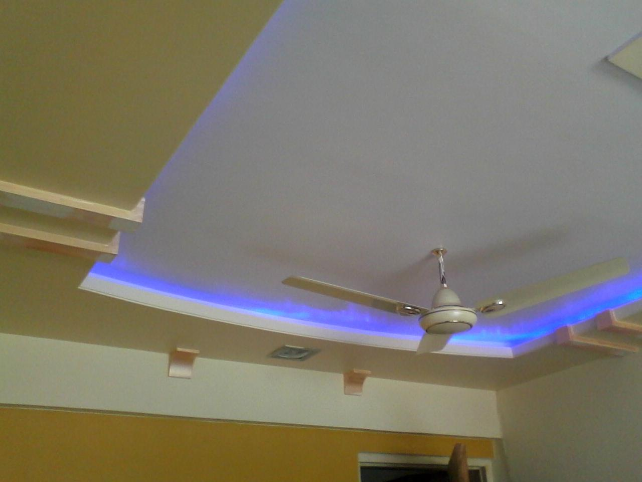 Pop And Ceiling Design With Lighting Gharexpert