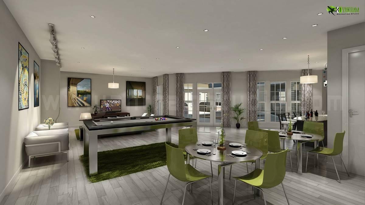 Club House Interior Design Ren....