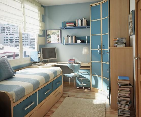 Corner Study Table Placement With Single Bed Gharexpert