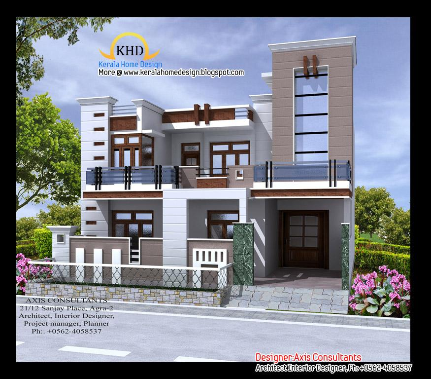 3d design of house exterior - Desing Of House