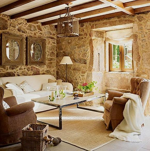 Modern Drawing Room In Stone A