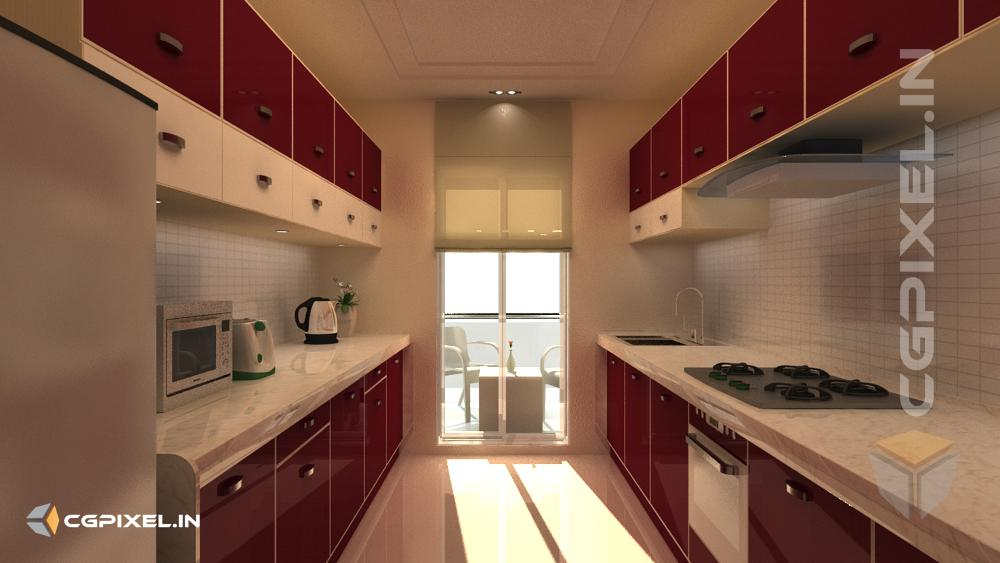 3D KITCHEN VIEW IN KOTA