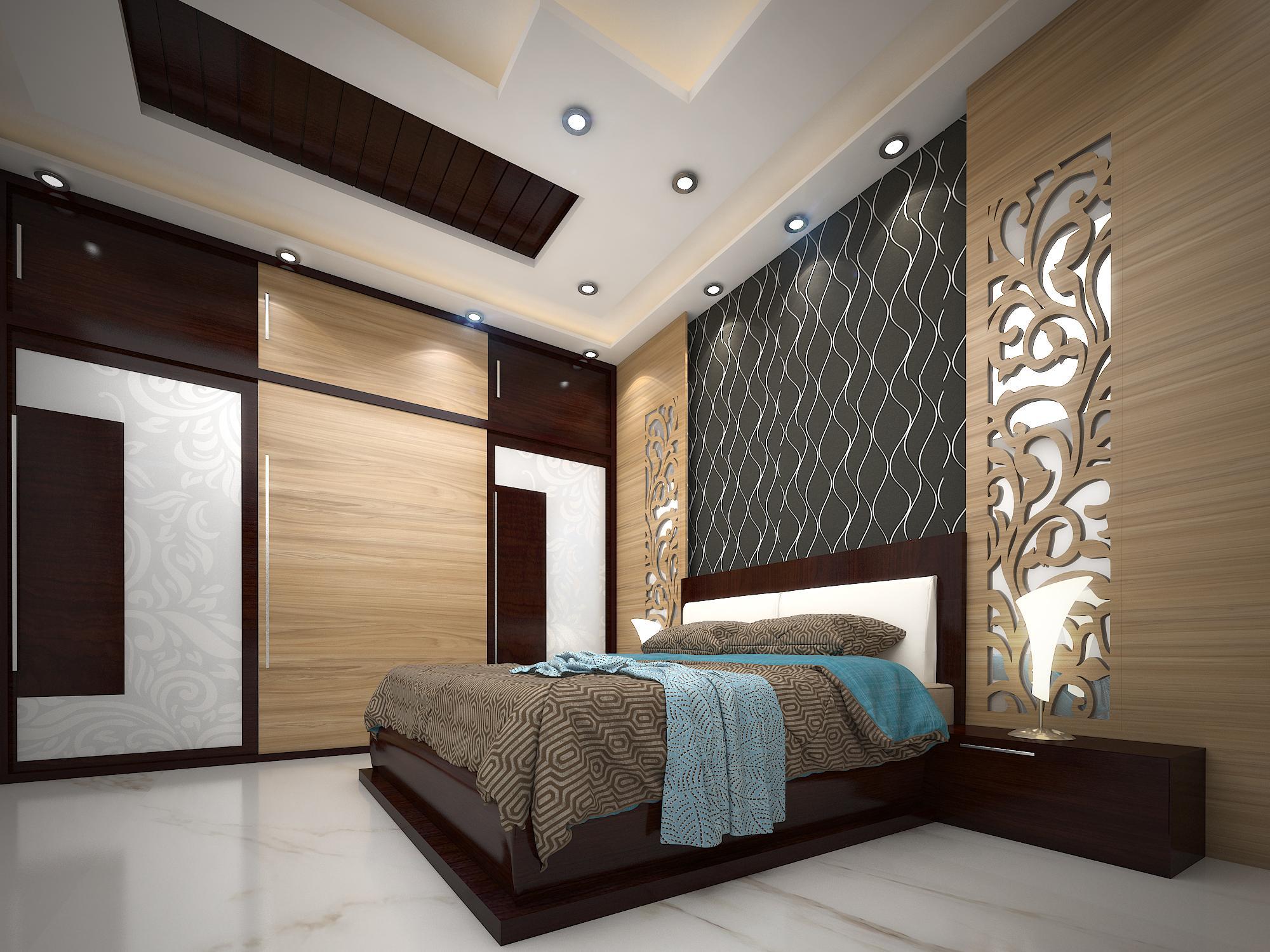 3D VIEW BEDROOM KOTA