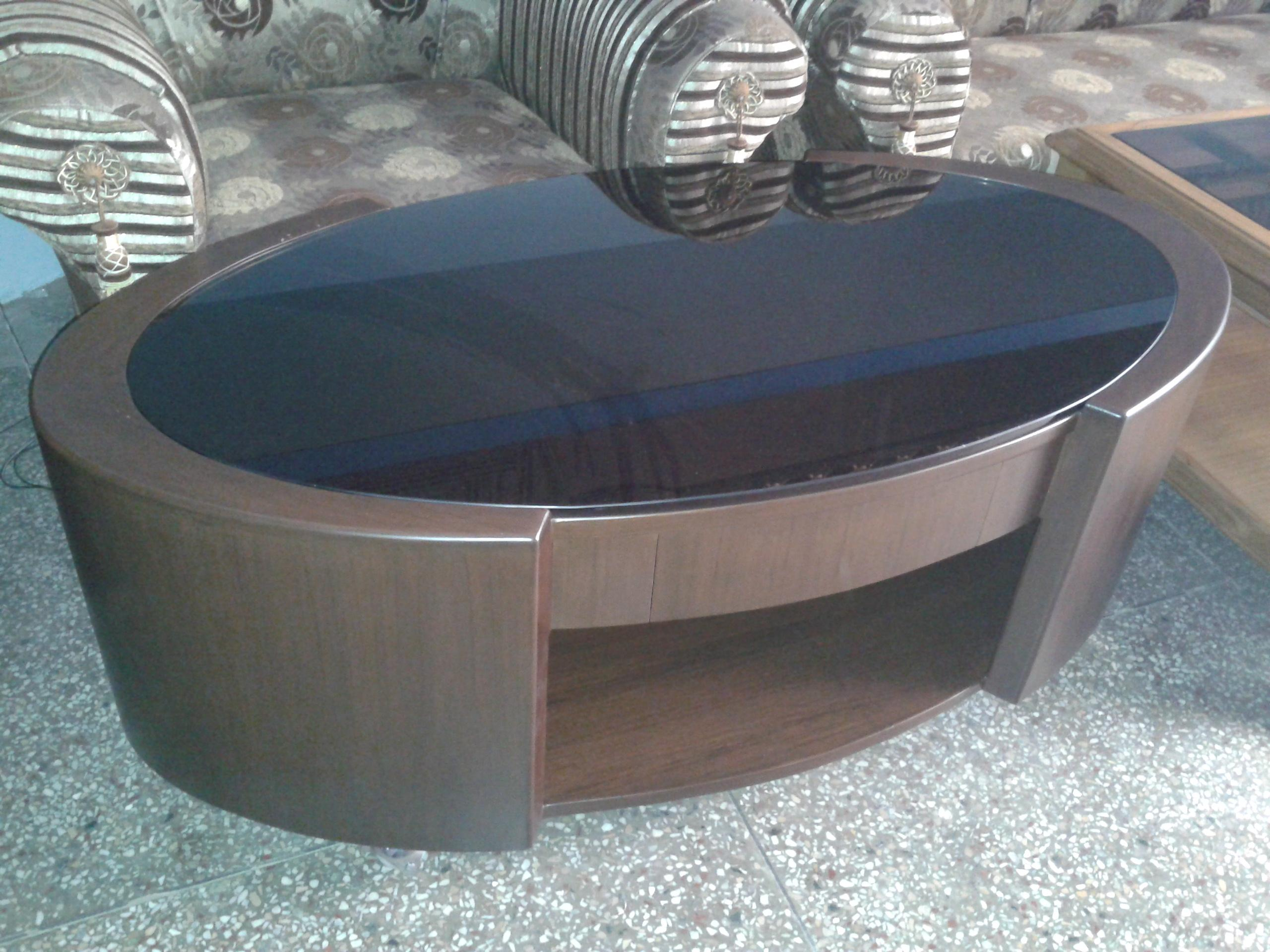 Oval Shaped Center Table Finis.