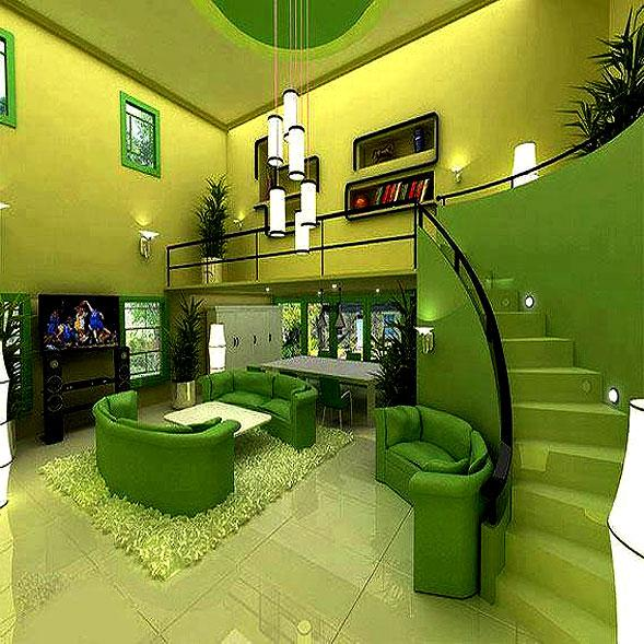green theme modern furniture f....