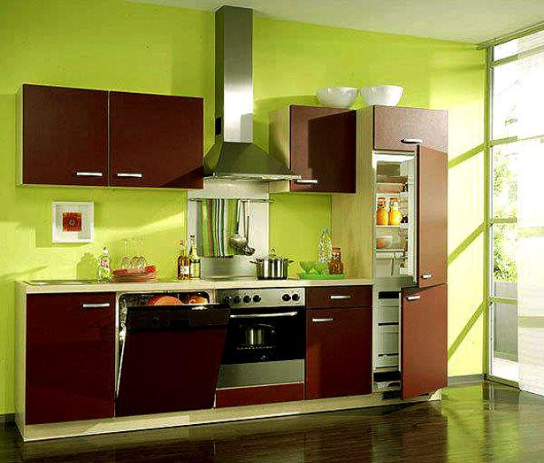 modular kitchen in dual tone s....