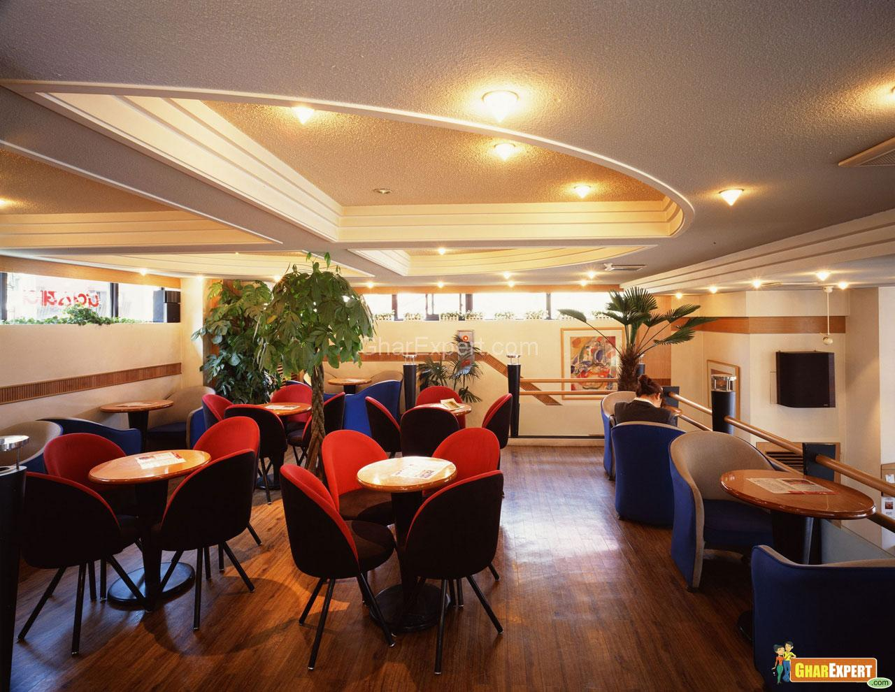 Ceiling Design In Restaurant Gharexpert