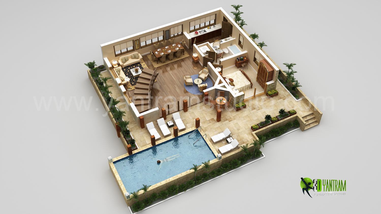 Interactive 3D Floor Plan