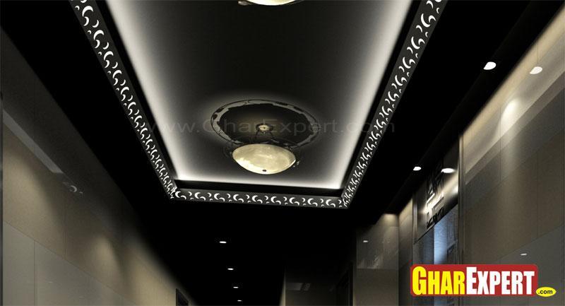 Suspended Ceiling in Black
