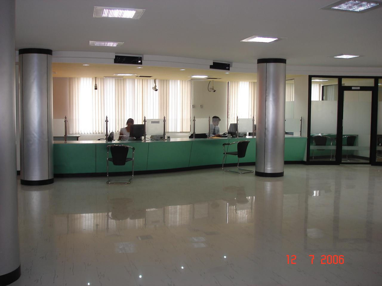 Bank Interior Gharexpert