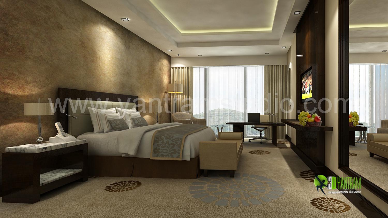 3D Classic Bedroom Interior De....