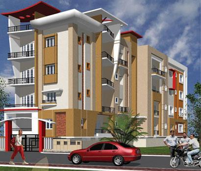 Dream Home Apartment Elevation - GharExpert