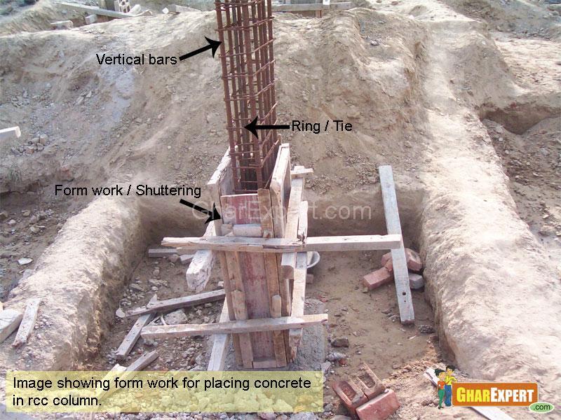 Pillar Work Gharexpert