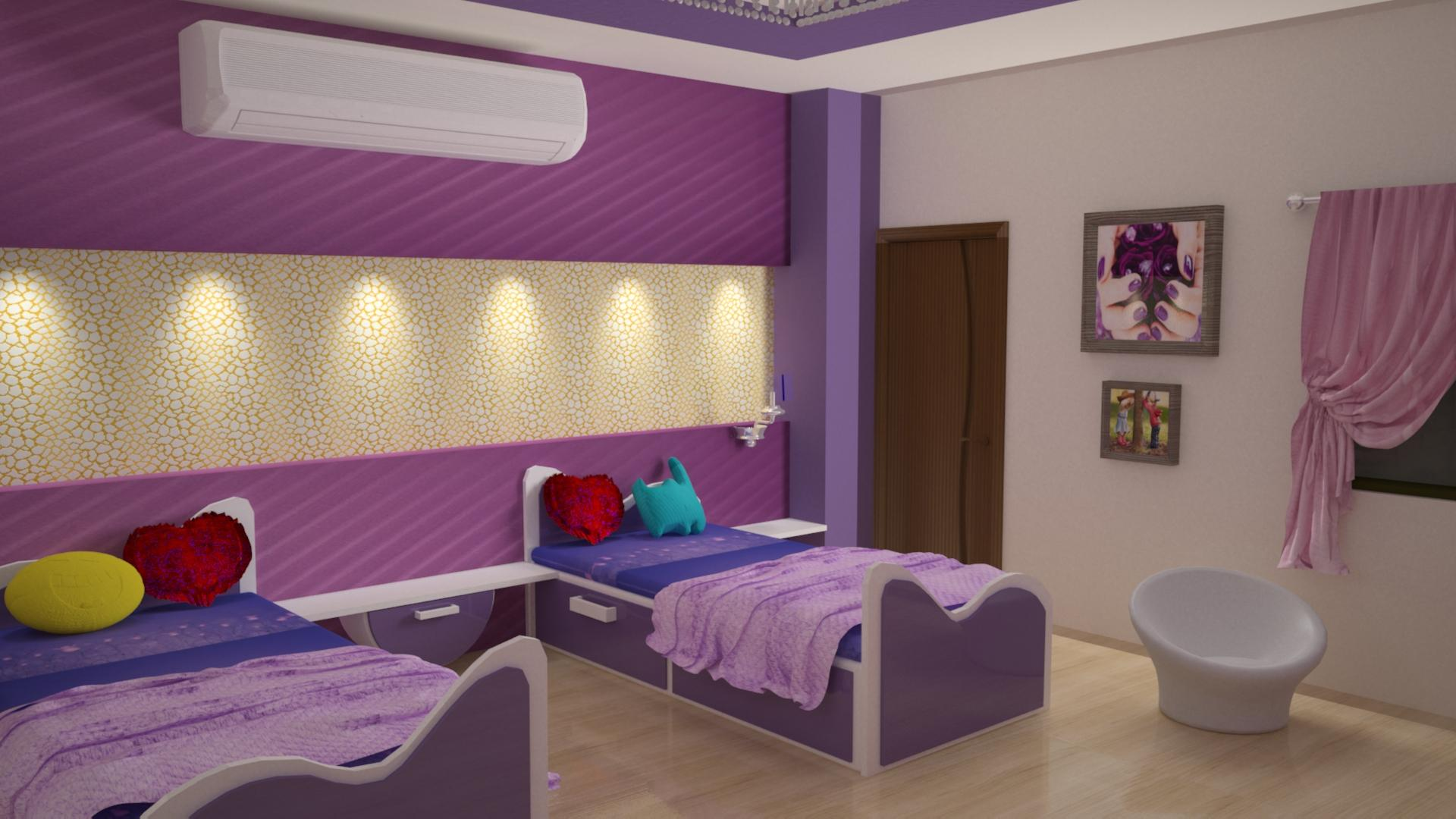 children room with twin beds 3....