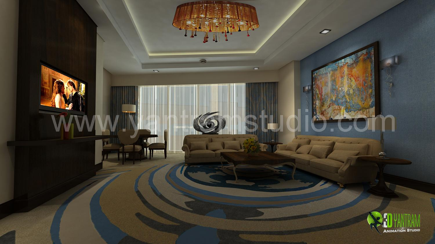 3D Interior Design Rendering F....