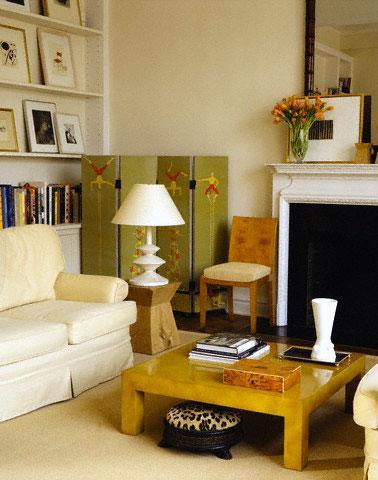 Side Lamp and Corner Decor