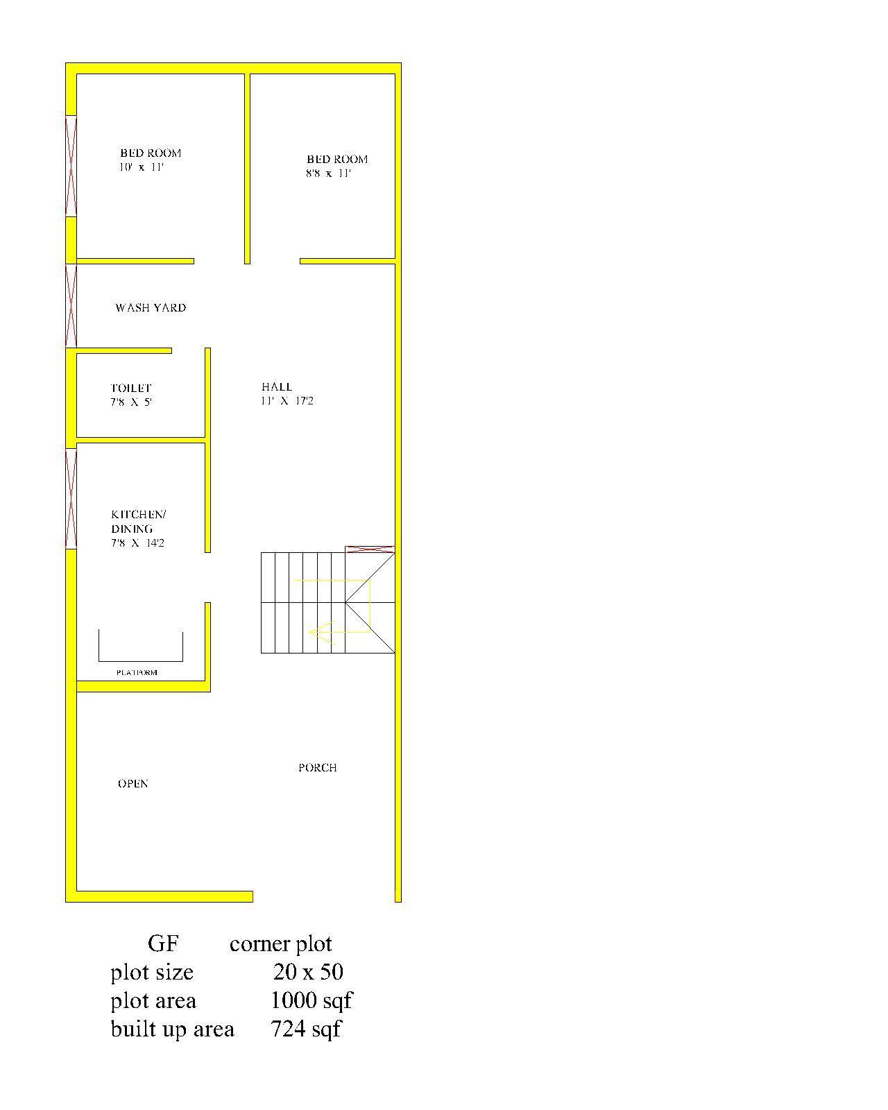 corner plot 20  x  50