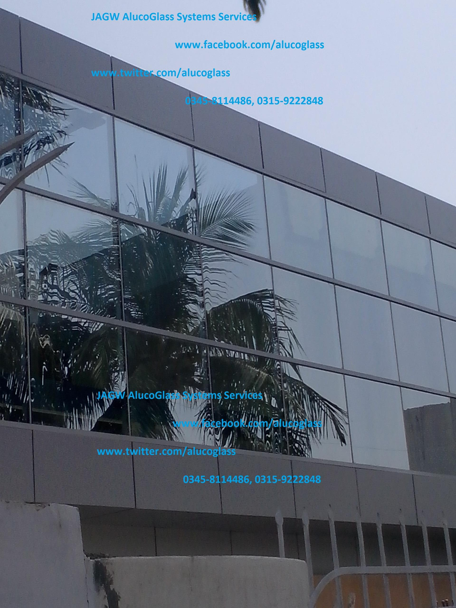 Curtain Wall, Tempered Glass a....