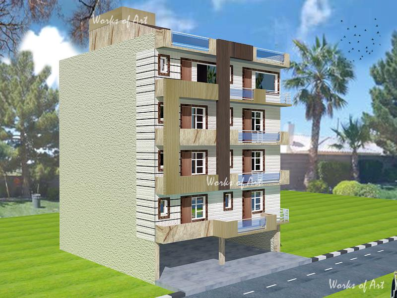 RESIDENTIAL BUILDER FLATS AT N....