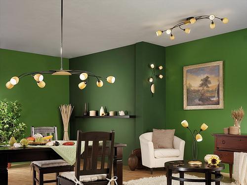 Ultra stylish lighting  in liv....