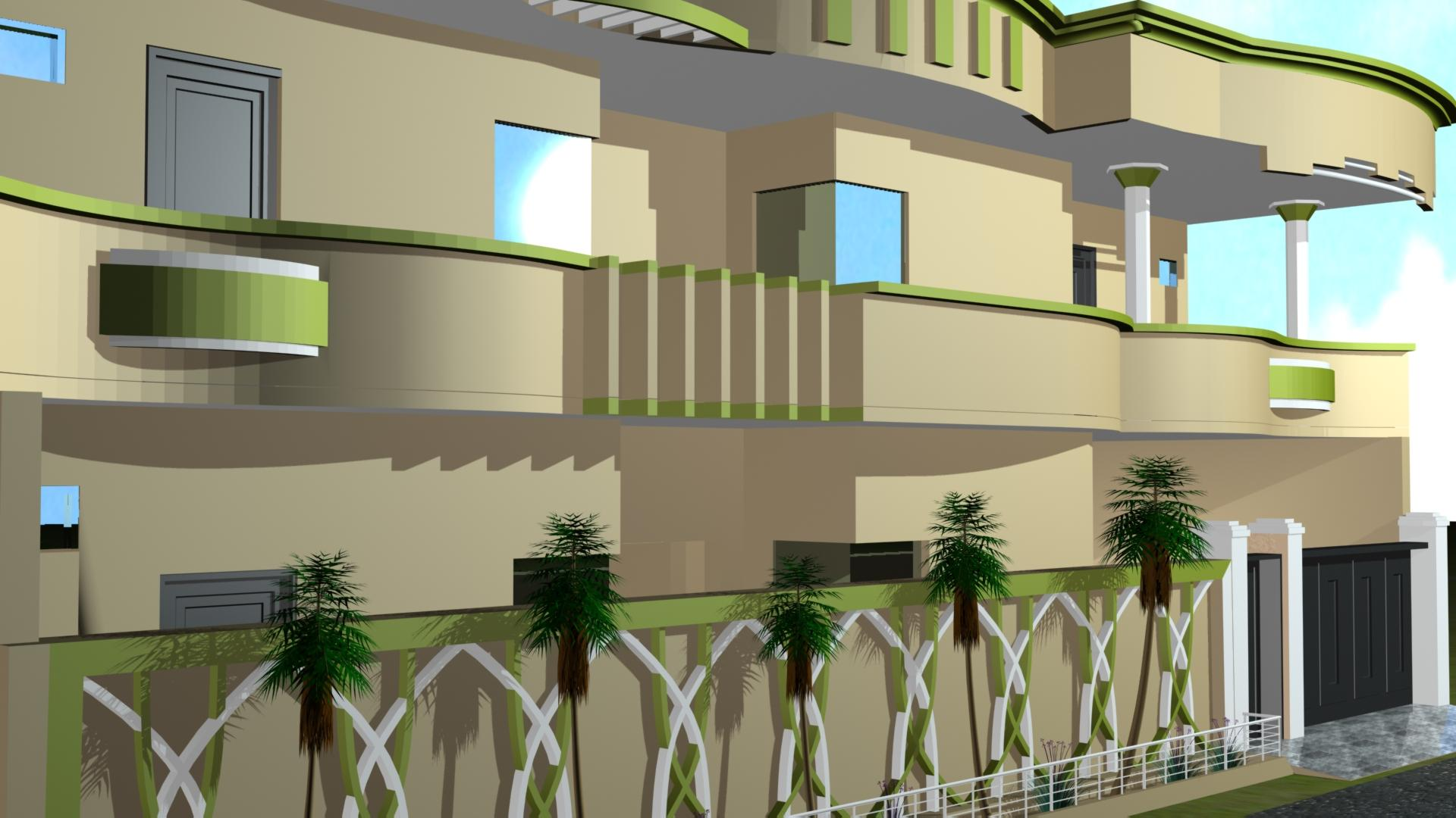 MY WORK IN 3DMAX