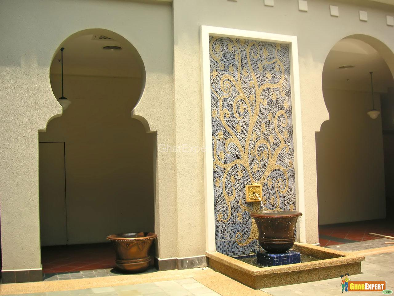Wall Pattern with Fountain Des....