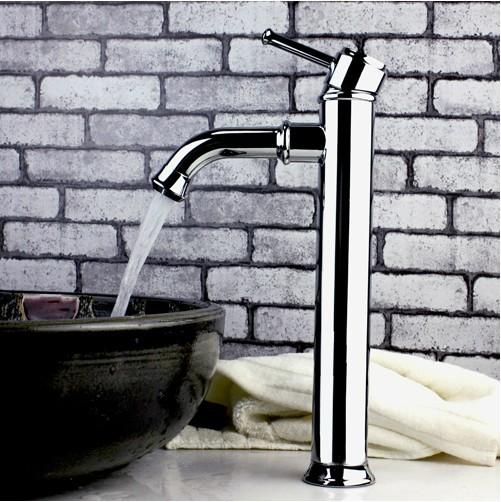 bathroom faucet chrome
