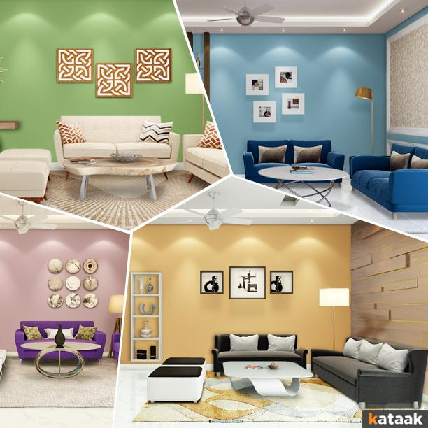 Colorful Living room designs