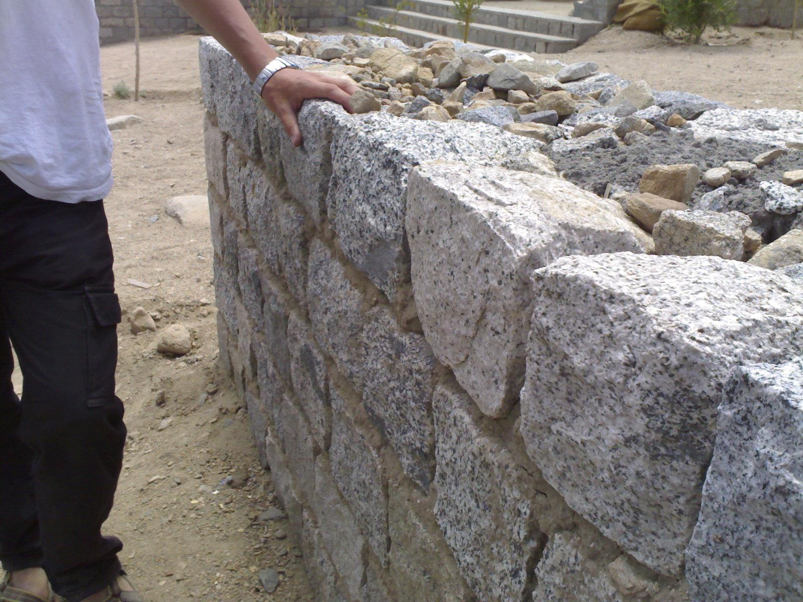 Cavity stone wall gharexpert for Rock wall insulation
