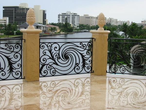 Balcony railing design gharexpert for Terrace railing design