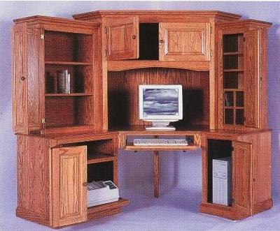 Corner TV/Laptop Table
